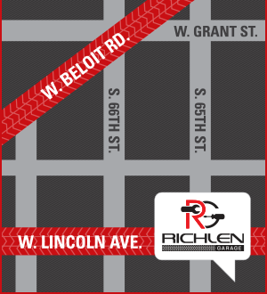 Richlen Garage Map